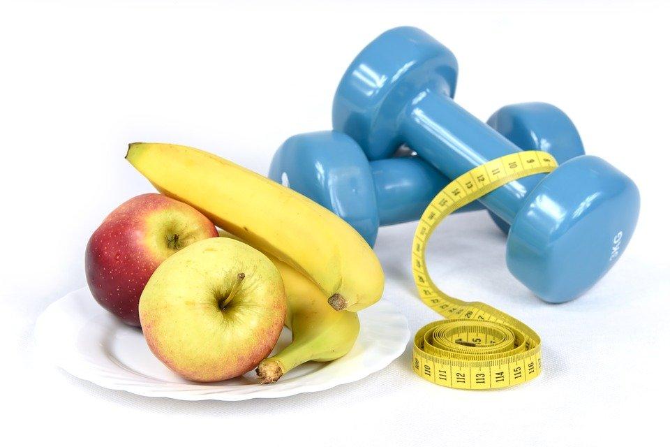 cvičení a jídelníček