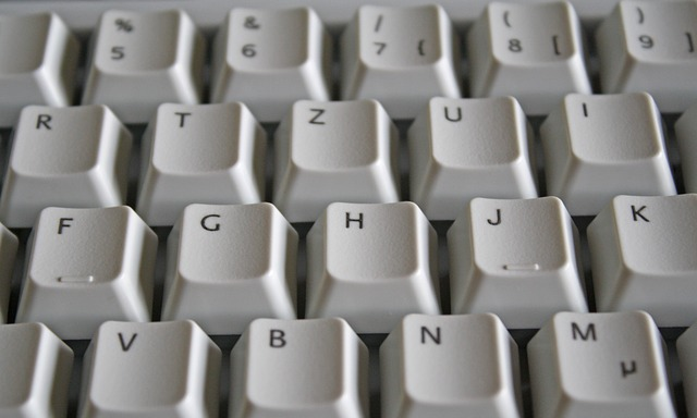 klávesnice písmena
