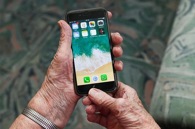 moře v mobilu