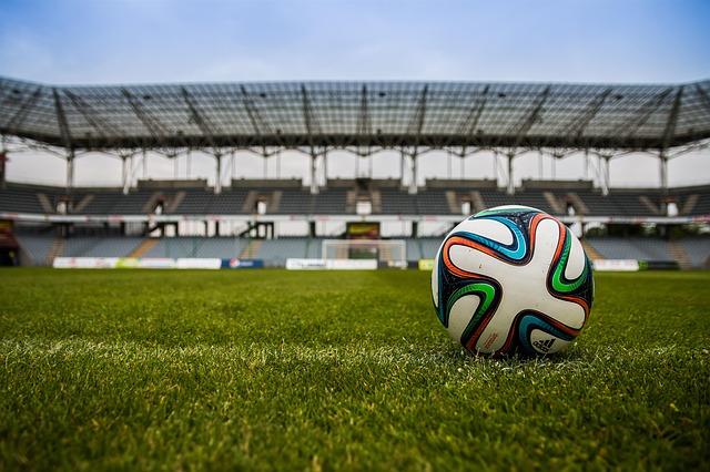 míč a stadion