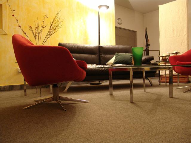 svítidlo v obývacím pokoji