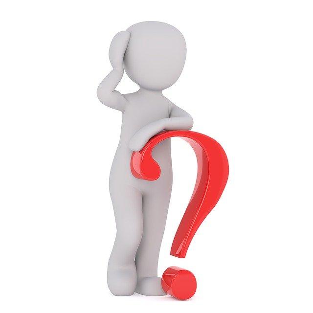 otázka, otazník, figurka