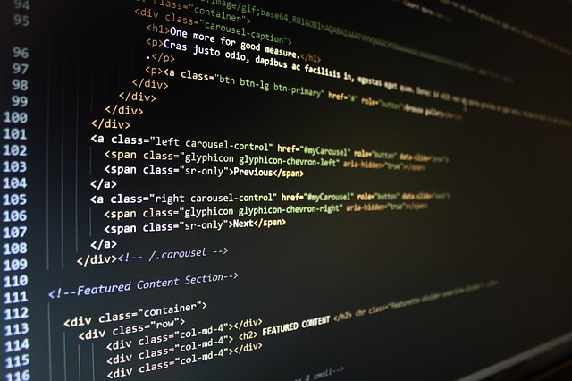 html kód webové stránky